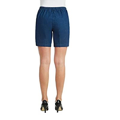 Petite Pull On Denim Short at Women's Clothing store