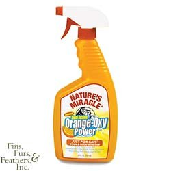 Nature's Miracle Orange-Oxy Power Just for Cats Stain and Odor Remover, My Pet Supplies