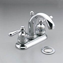 Moen Traditional 2 Handle Chrome Lavatory Faucet Touch