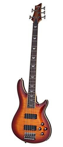 Schecter Omen Extreme-5 Electric Guitar, Vintage Sunburst