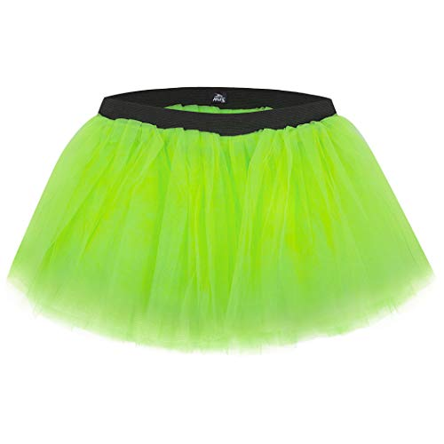 Gone For a Run Runners Tutu Lightweight | One Size Fits Most | Neon Green ()