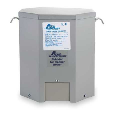 Acme Electric T2535153S Transformer, 7.5KVA, 1P, 240/480V, 120/240V, Isolation by Acme Electric