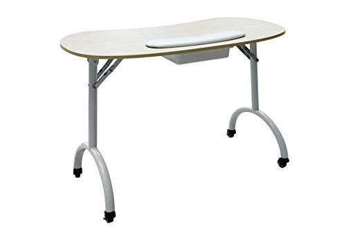 Light weight portable and foldable manicure nail table d for Small manicure table