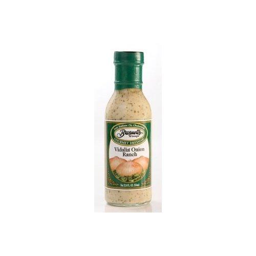 Braswell Vidalia® Onion Ranch Dressing 12 oz Bottle (Pack of 2)
