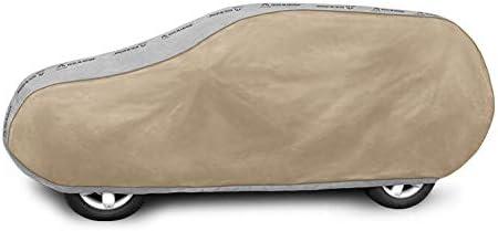 B/âche de protection Optimal L SUV compatible avec Suzuki Grand Vitara I II 5 portes /étanche Housse de voiture Jaune Universel