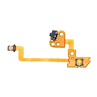 New L Left Key Button Ribbon Flex Cable Replacement for Nintendo Switch Joy-Con Stick Caps Skin Controller