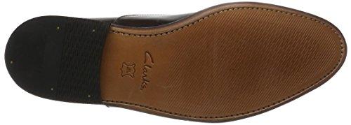 Clarks Herren Ellis Vincent Derbys Braun (Chestnut Leather)