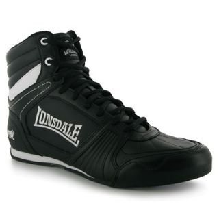 Lonsdale Tornado Mens Boxing Boots Black 8 UK UK: Amazon