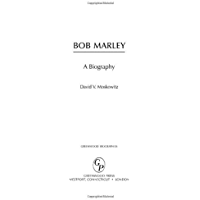 Bob Marley: A Biography (Greenwood Biographies) book cover