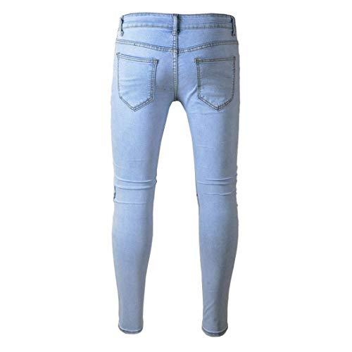 Con Uomini Denim Motociclista Rt Uomo Di Slim Del Ragazzi Otturatore Jeans Elastica Classiche E Pantaloni Fit Dunkelgrau Dei Sommerhose Moda Svago Hren vTxqPFYd