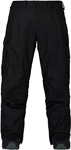 - Burton Men's Cargo Snow Pant Regular Fit , True Black W19, Large