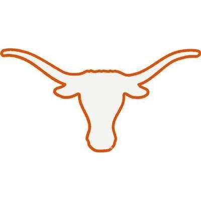 amazon com university of texas longhorns decal bevo white with