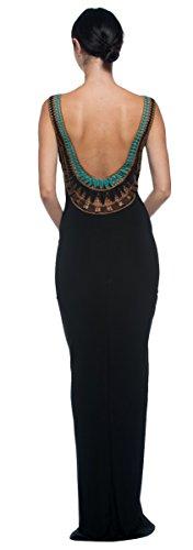 long black goddess dress - 1