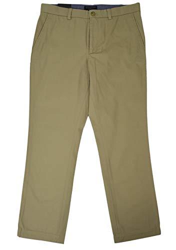 Banana Republic Men's Aiden-Fit Chino Pants British Khaki 33W x 30L