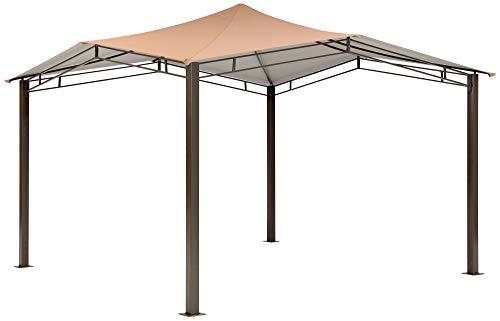 (ShelterLogic Canopy Series Sequoia 12 x 12-Foot Easy Assembly Seasonal Shade UV Protection Outdoor Gazebo, 12 x 12 x 9')