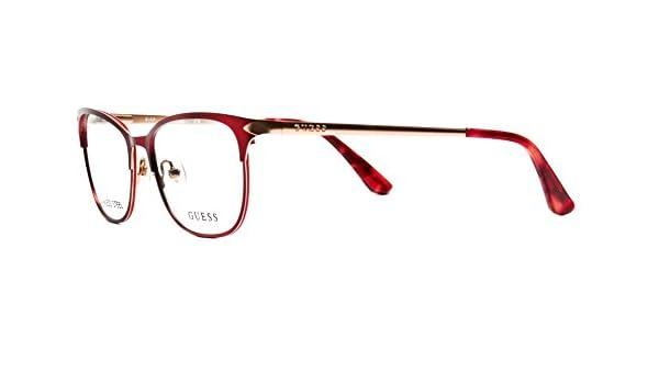 92cad0aad2 Amazon.com  Guess eyeglasses GU2638 V 069 womens frame Size 52 16 135   Clothing