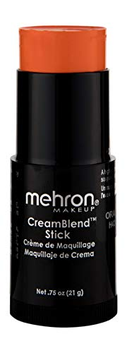 Cheap Halloween Makeup Tutorial (Mehron Makeup CreamBlend Stick (0.75 Ounce))