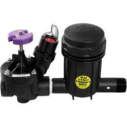 Rainbird XCZ100PRBR 1'' Reclaimed Water Commercial Zone Kit with PESB Valve