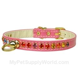 Mirage Pet Products No.26 Dog Collar, 10-Inch, Pink