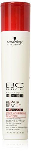 BC Bonacure REPAIR RESCUE Deep Nourishing Shampoo, 8.45-Ounce
