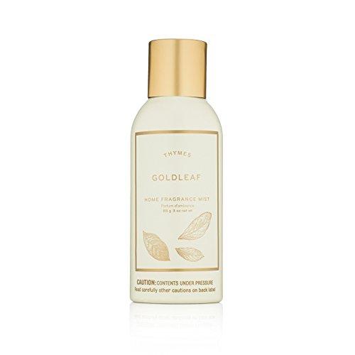 Thymes - Goldleaf Home Fragrance Mist - Elegant Floral Scented Room Spray - 3 (Leaf Home Fragrance Mist)