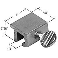 CRL Window Thumbscrew Lock, Aluminum - Bulk (100 Pack) by C.R. Laurence