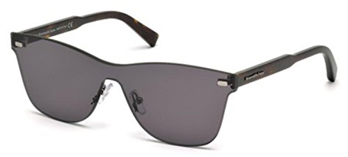 Ermenegildo Zegna - EZ0025, Other, acetate, men, DARK HAVANA/GREY(20A A) from Ermenegildo Zegna