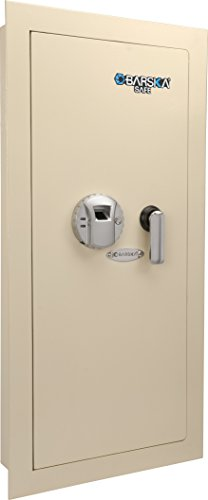 Barska Optics AX12880 BioMetric Wall Safe, 31 1/2