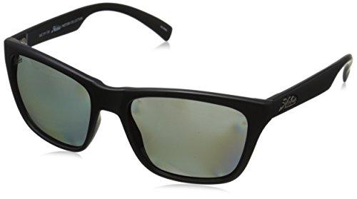 Hobie Woody Polarized Rectangular Sunglasses, Satin Black, 58 - Hobie Polarized