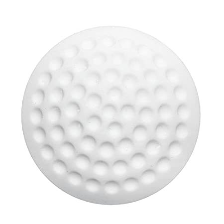 SpiderJuice Circular Golf Ball Design Anti Collision Damping Noise Reducer Bumpers Anti Crash Furniture Protection Pads Guards Protects Door Handle Walls from Scratch (Pack of 4 Pcs, Random Color)