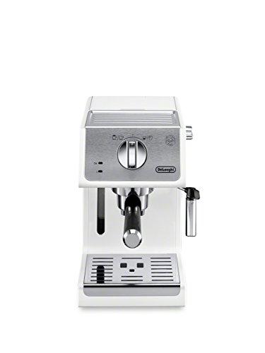 De'Longhi ECP3220W 15 Bar Espresso Machine with Advanced Cappuccino System, White