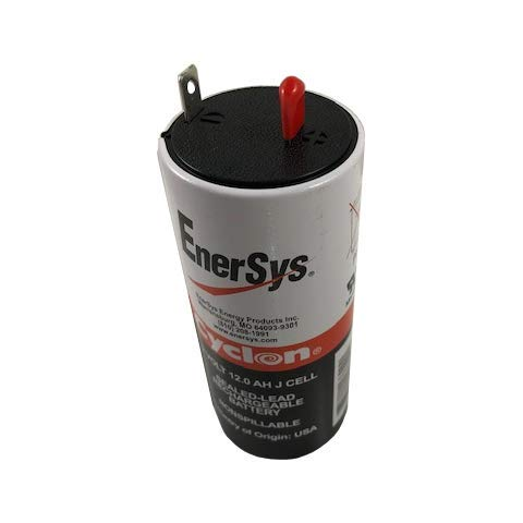 Enersys (Hawker) Cyclon 0840-0004 J-Cell 2 Volt/12 Amp Hour Sealed Lead Acid Battery