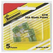 Buss Mini Fuse - Buss Automotive Fuse Atm 30 A 32 V 5 / Carded