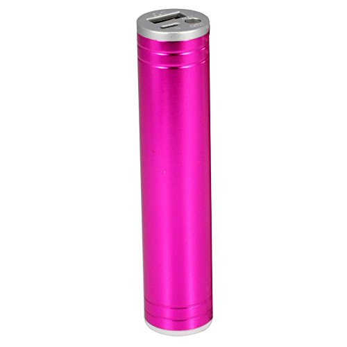 Power Bank (2200 mAh) Portable Charger,  Input: DC 5V/0.5ma. Output, LED Ultra Bright Flashlight, with Micro USB Cable.