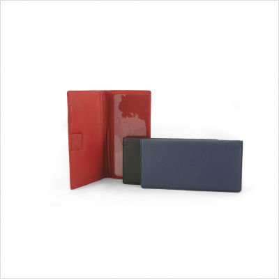 Osgoode Marley Cashmere Checkbook Cover (Brandy) by Osgoode Marley