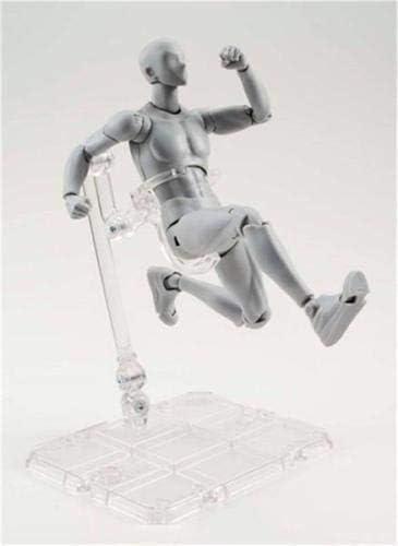 ILOVE DIY Body Kun Chan Doll Figurines Drawing Mannequin Model avec Accessoires Gris, Femme