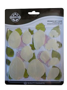 PME Plastic 11-Piece Cutter Set, Vein Set 1