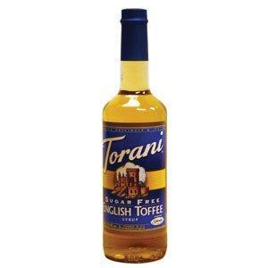 Torani® English Toffee Syrup Sugar Free