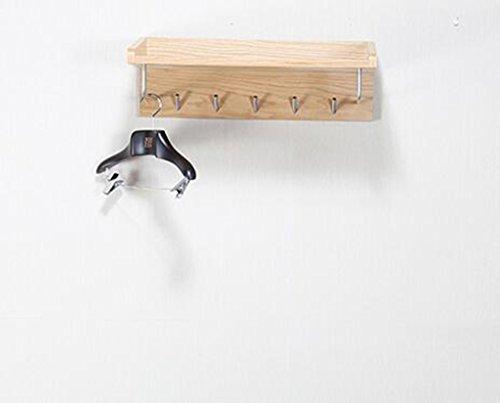 Amazon.com: YMJ - Perchero de madera con diseño de roble ...