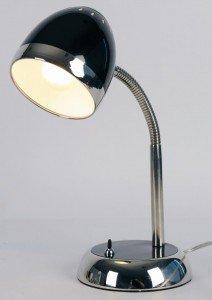 Style 'juicy Chrome Collection Lampe De Flexnoir Chevet Et Retro jA354qRL