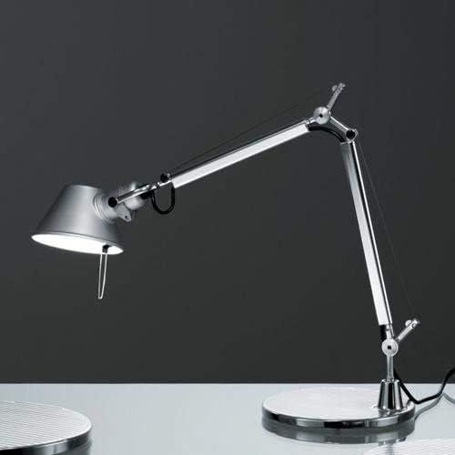 Artemide Tolomeo Micro Lámpara de mesa con base de aluminio ...