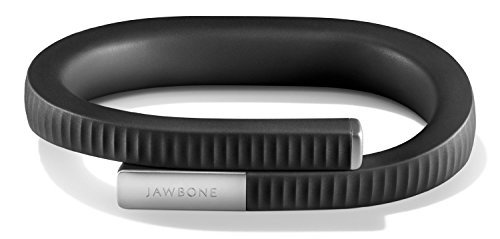 UP 24 by Jawbone - Bluetooth Enabled - Large - Onyx (Certified - Tracking Warehouse