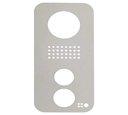 Door Station Stainless Steel Faceplate - DoorBird Faceplate for D21xKV IP Video Door Station Brushed Stainless Steel (V2A)