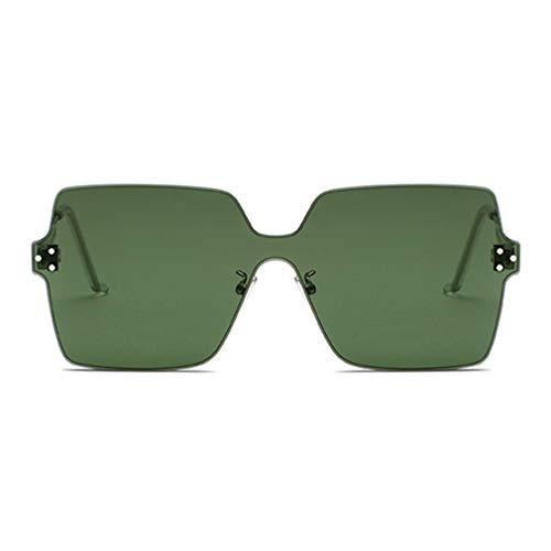 Vista Sole Uv400 Donna Weimeite Ladies Candy Outdoor Senza Colors Green Army Montatura Occhiali Trend Shape Da wPHBq