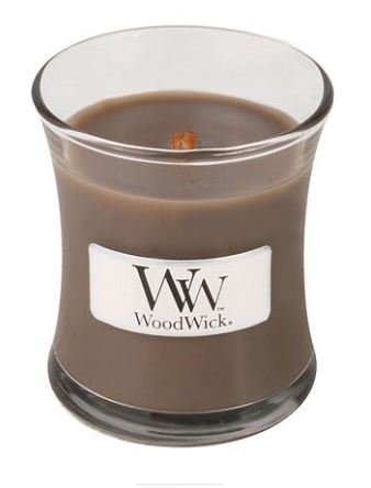 Sand and Driftwood Mini 3.4 oz. Scented WoodWick Candle
