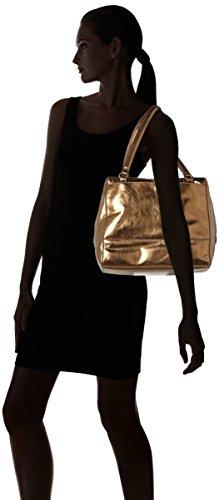 Liebeskind Berlin Mesaw7 Memila - Shoppers y bolsos de hombro Mujer Dorado (Sioux Beige)