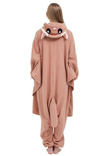 Adulte De Pyjama Animal Kigurumi Onesie Soiree Vetements Unisexe Deguisements Cosplay Outfit Volant Anime Halloween Nuit Combinaison Costume Écureuil rYrqw6