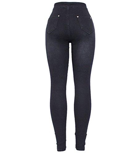 Skinny Black Barfly Femme 341 Jeans Fashion zEE7B