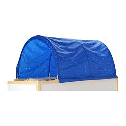 Image Unavailable  sc 1 st  Amazon.com & Amazon.com: KAO Mart Canopy Tent for IKEA Kura Bed (Blue): Home ...