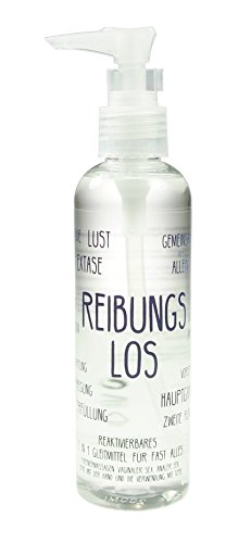 Reibungslos - reaktivierbares 5-in-1 Gleitmittel, Wasserbasis, 1x 200ml